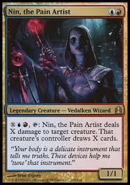 nin the pain artist tribal wizards multiplayer commander