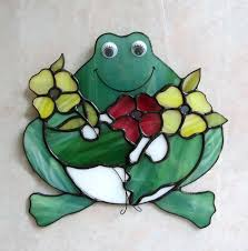 73 best stained glass frogs images on mosaics glass