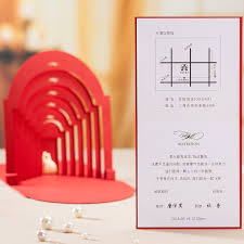 Popular Personal Wedding Invitation Cards Aliexpress Com Buy New Arrival Red Wedding Invitation Cards Red