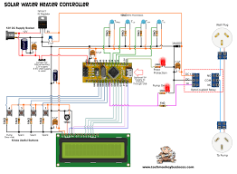 circulating pump for water heater the solar water heater controller in the real world