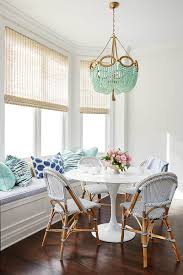 Aqua Dining Room Breakfast Nook Ideas For Small Kitchens And Dining Rooms