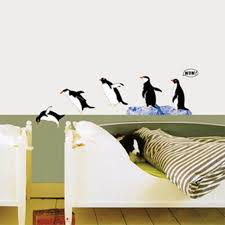 31 penguin wall decals of madagascar peel and stick giant wall
