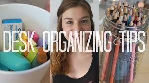 Organizing Desk Drawers by Back To Desk Organization Tips Diy Youtube