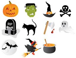 halloween vector graphics clip art library