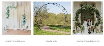 wedding arches rental vancouver decor rental billies flower house