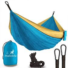 xl double hammock camping hammock holds 1000 lbs with carabiners