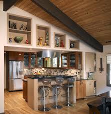Split Level Kitchen Island by Kitchen Cubby Hole Ideas Kitchen Traditional With Split Level