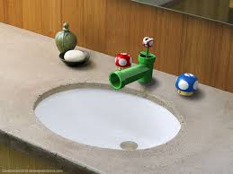 Sink Fixtures Bathroom Mario Bathroom Sink Fixtures Dave S Geeky Ideas