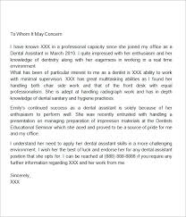 sample recommendation letter 8 free documents in word