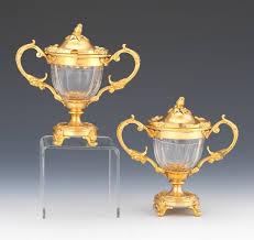 Bohemian Glass Chandelier A Bohemian Glass Enameled And Gilt Pokal 06 19 14 Sold 218 5