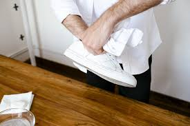 how to clean leather sneakers at home greats