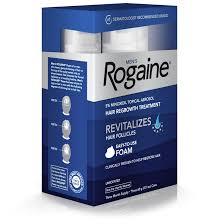 rogaine men u0027s minoxidil hair thinning u0026 loss treatment foam 3