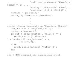 guide matlab common programming desires with ui objects elements of gui design