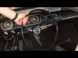 mustang steering wheels mustang steering wheel replacement 1965 1966 installation