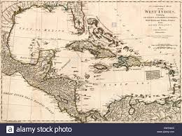 Map Of Florida Coast by A Compleat Map Of The West Indies Containing The Coasts Of Florida