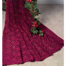 maxim free lace enchantment afghan crochet pattern