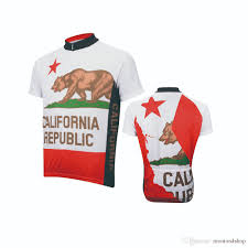 bike clothing 2017 california republic cycling jersey men short sleeve cycling