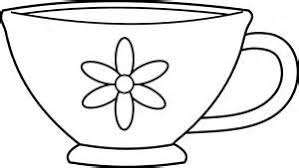 Cup Clipart Colouring Page Pencil And In Color Cup Clipart Cup Coloring Page