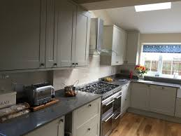 soooooo pleased with our new kitchen howdens burford grey quartz