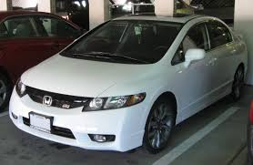 Honda Civic Usa File 2009 Honda Civic Si Sedan 10 05 2009 Jpg Wikimedia Commons