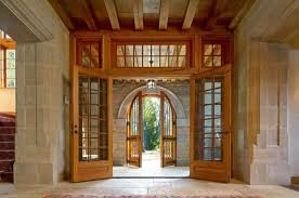 French Doors With Transom - craftsman entryway with transom window u0026 french doors zillow