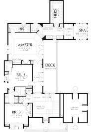 Wine Cellar Floor Plans by Traditional Style House Plan 4 Beds 3 50 Baths 4311 Sq Ft Plan