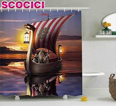 Scandinavian Shower Curtain by Popular Viking Curtains Buy Cheap Viking Curtains Lots From China