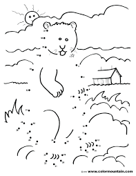 coloring pages groundhog day coloring pages for children