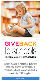 Does Office Depot Make Business Cards Give Back To Schools Program