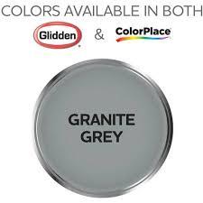 colorplace grab n go interior paint granite grey semi gloss
