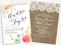wedding invitations etsy wedding invitation etsy kac40 info