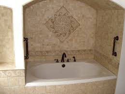 bathroom traditional tile ideas transitional photos 7del