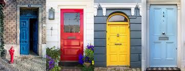 how to choose a front door paint colour