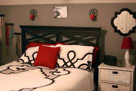 bedrooms with grey and red bedroom before i don u0027t know if you