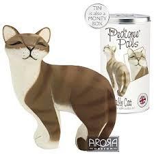 tabby cat ornaments cat figurines tabby cat ornament