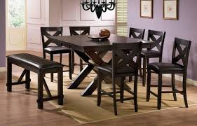 winners only edgewater 8 piece counter height dining set with