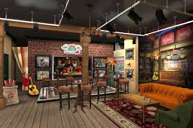 742 Evergreen Terrace Floor Plan Recreate Your U0027friends U0027 Fantasy By Visiting The Real Life Central Perk