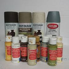 Krylon Textured Spray Paint - catacomb wall panels 8 steps with pictures