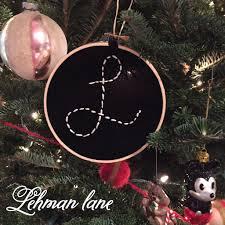 diy embroidery hoop christmas ornaments u0026 ornament hop lehman lane