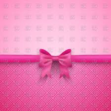 pink bows pink background with bow vector image 40889 rfclipart