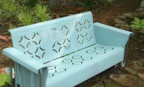 Metal Porch Glider Annie Sloan Chalk Paint Tutorial Series For Outdoor Pieces