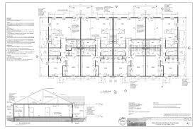 4 Unit Apartment Building Plans Quadplex Plans Pdf Jan Building Plans Online 45550