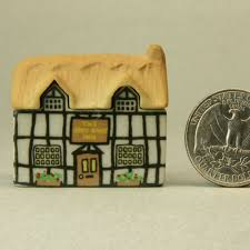 miniature buildings cottages and villages