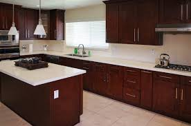Mocha Shaker Kitchen Cabinets Mahogany Shaker Ready To Assemble Kitchen Cabinets The Rta