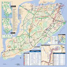 New York Airport Terminal Map by Map Of Nyc Bus Stations U0026 Lines