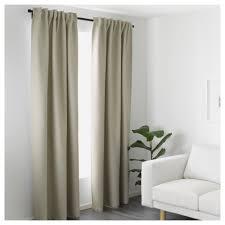 Curtain Rods Ikea by Vilborg Curtains 1 Pair Beige 145x250 Cm Ikea