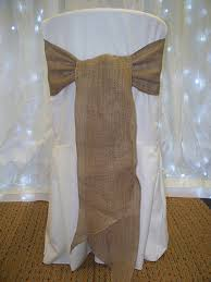 diy chair sashes hessian burlap wedding chair sashes suffolk chair covers