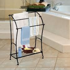 bathrooms design wood bathroom towel racks stand fun ideas home