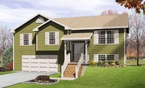 split level house cozy split level house plan 2298sl architectural designs