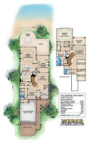 rustic lake empty nester house plans home lakefront with photos